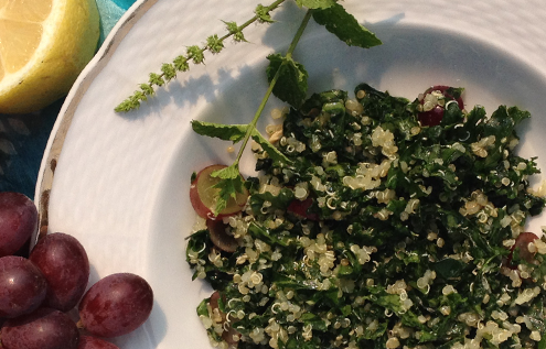 Green Kale Moroccan Mint Salad