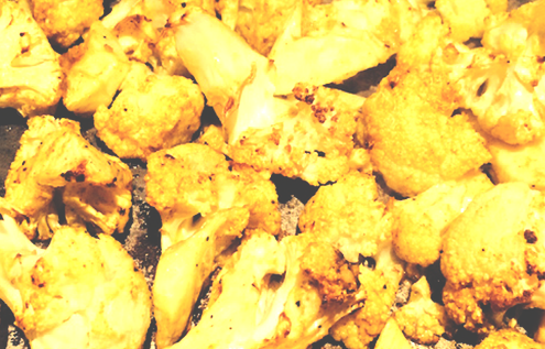 Tumeric Cauliflower
